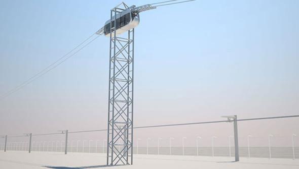 Индустриальная-площадка-SkyWay-высокая-опора-городского-комплекса