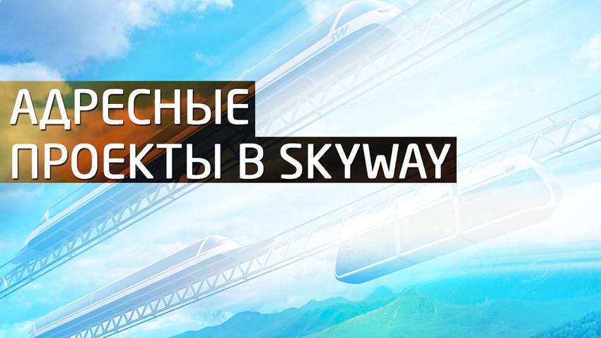 Адресные проекты в Skyway