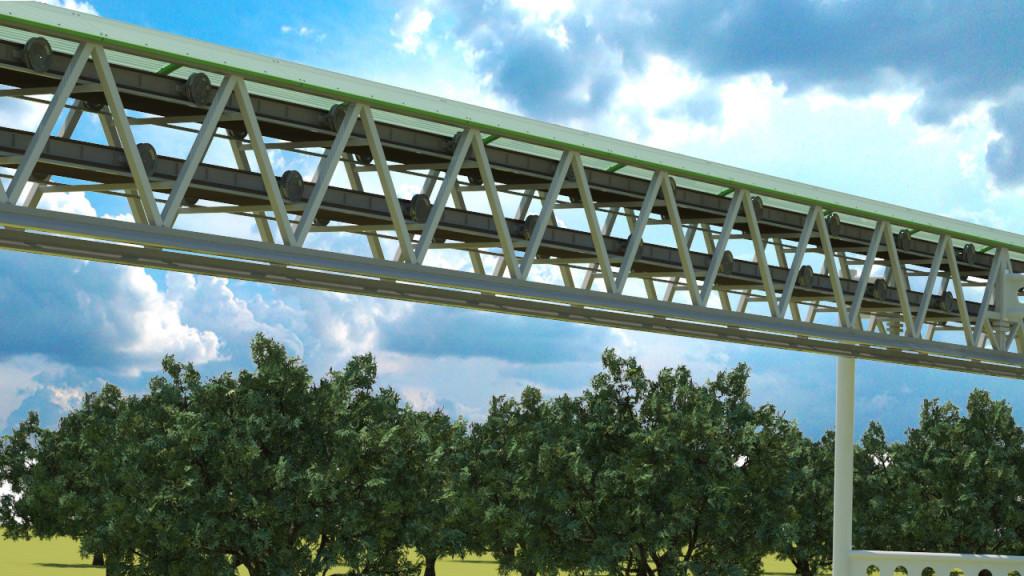 Fermenno-strunnaja birel'sovaja putevaja struktura