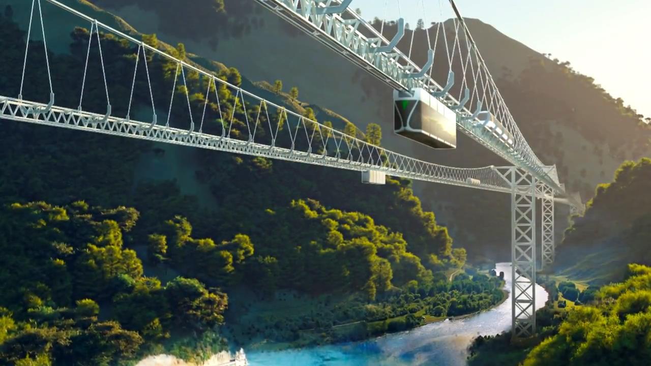 Подвесной Skyway с Машинным зрением
