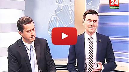 Skyway на телеканале Беларусь 24 в программе 24 вопроса