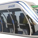 Трехместный Юнибайк Unibike U4-630. Полная масса 580 кг.