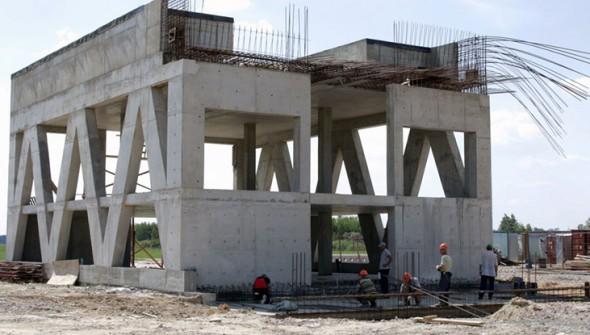 Фотоотчёт о ходе строительства ЭкоТехноПарка 30.06.16