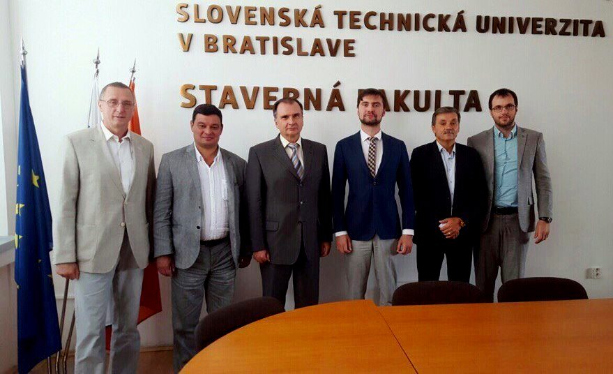 Делегация Skyway в Словакии