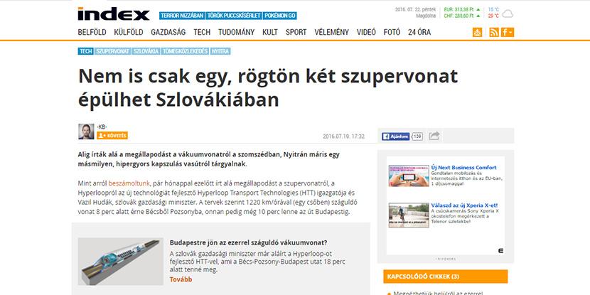 О SkyWay на венгерском