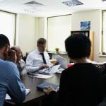 Переговоры по вопросам заключительного этапа возведения струнной эстакады
