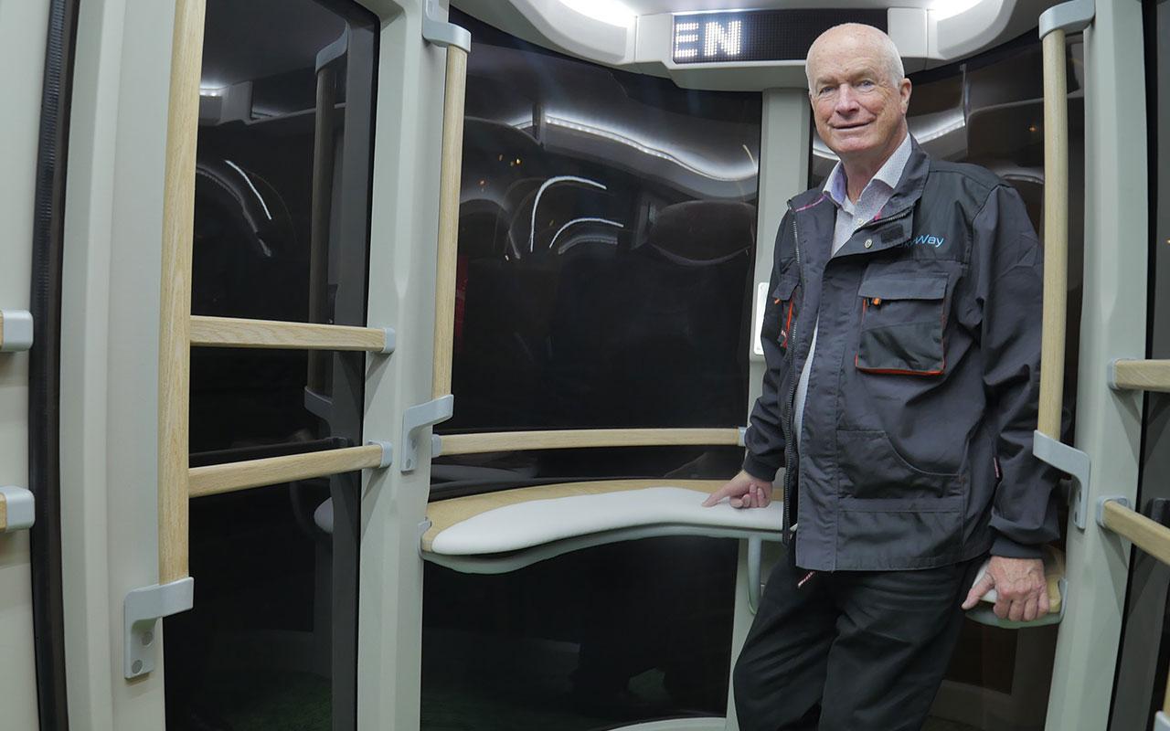 Rod Hook (Род Хук) в Юнибусе на выставке Innotrans в Берлине 2016