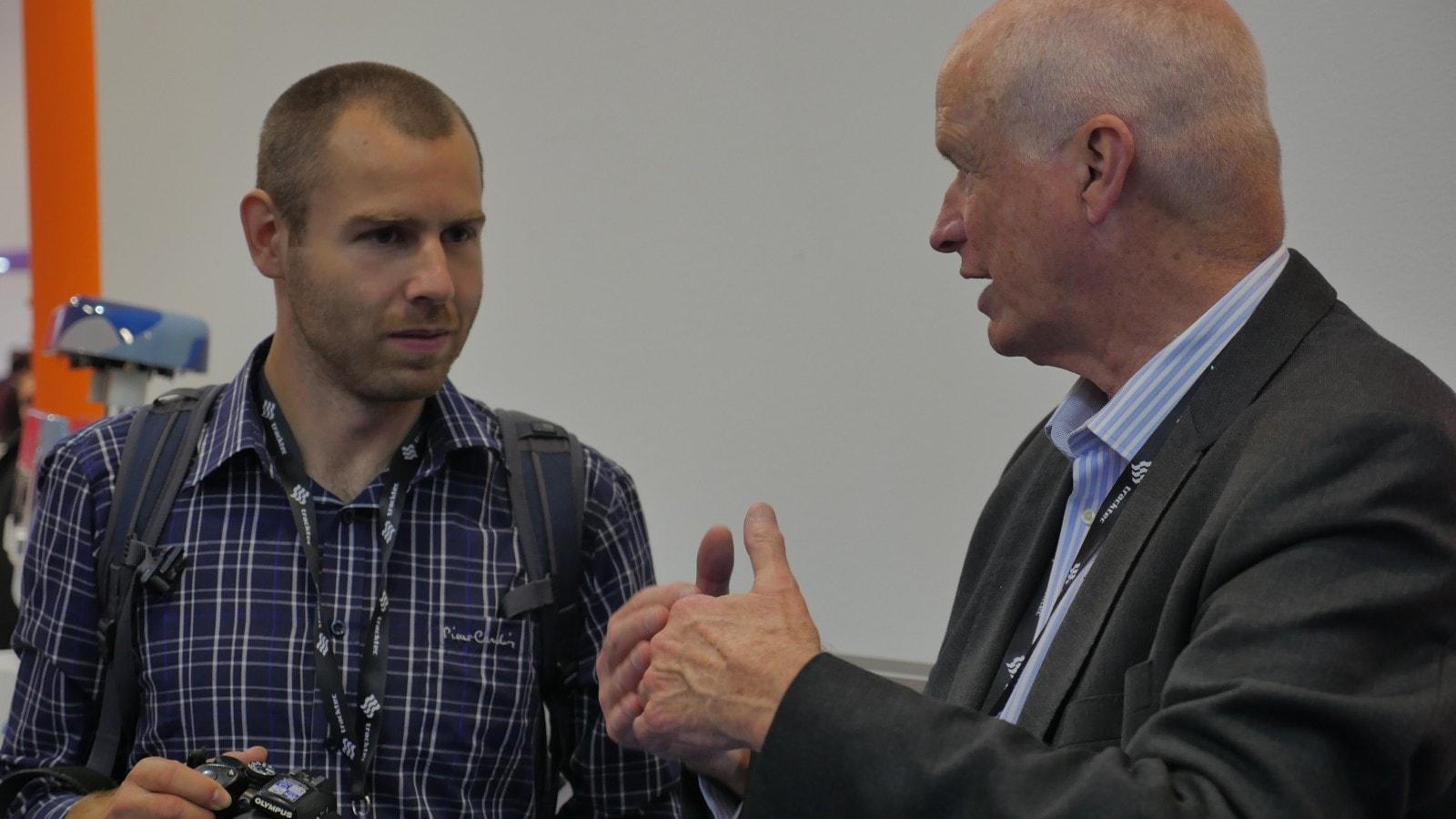 Род Хук и посетиль выставки Innotrans в Берлине