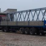 В ЭкоТехноПарк прибыли первые фермы эстакады скоростной трассы