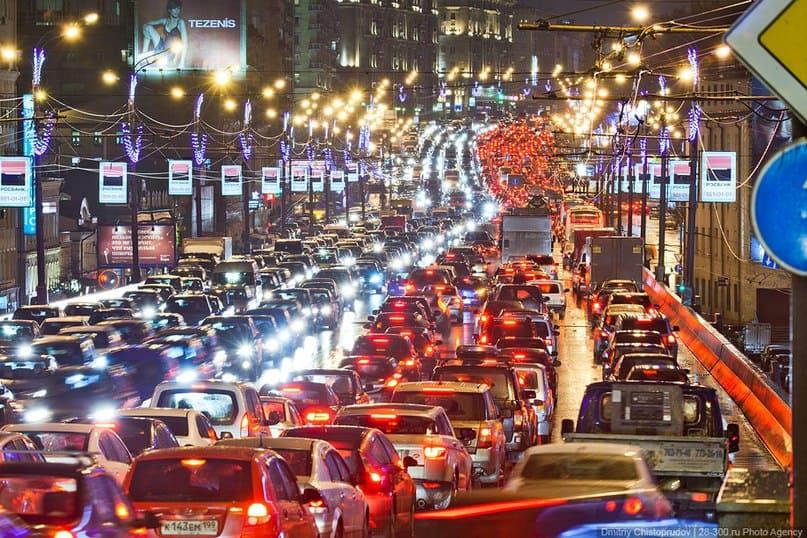 Пробки — проблема современных городов