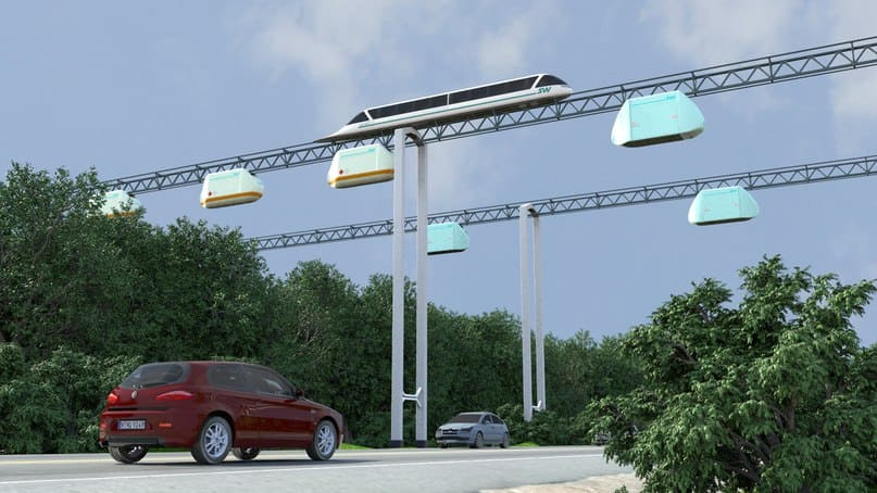 Sky Way — скоростной транспорт будущего без пробок