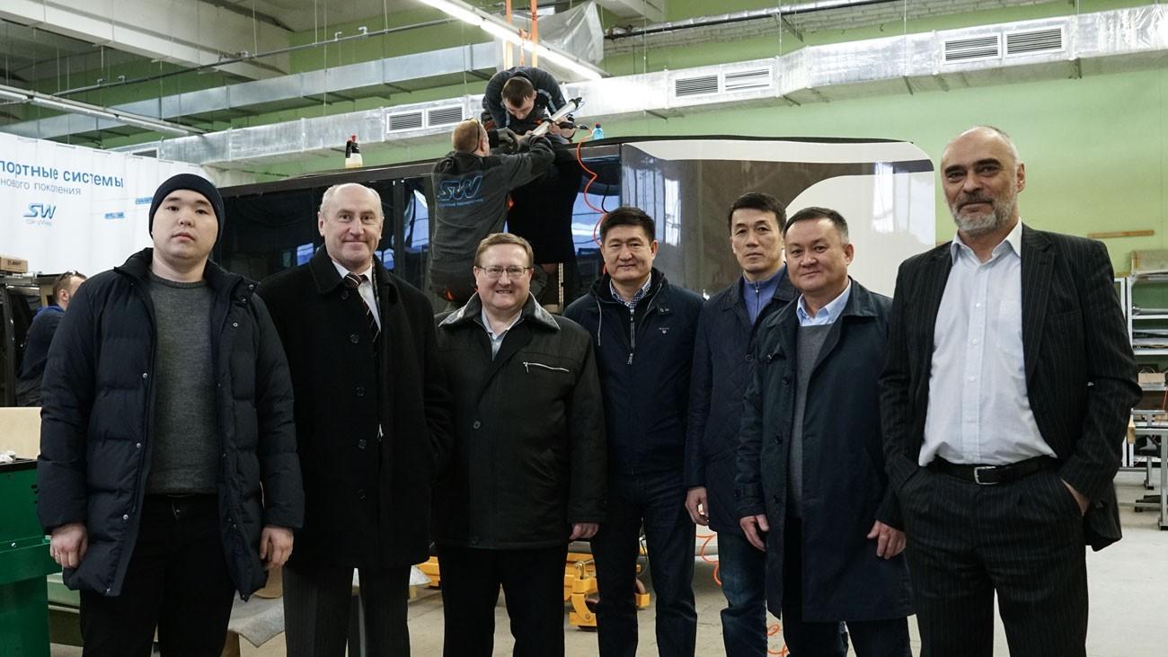 делегация в skyway из г. Алматы, Казахстан