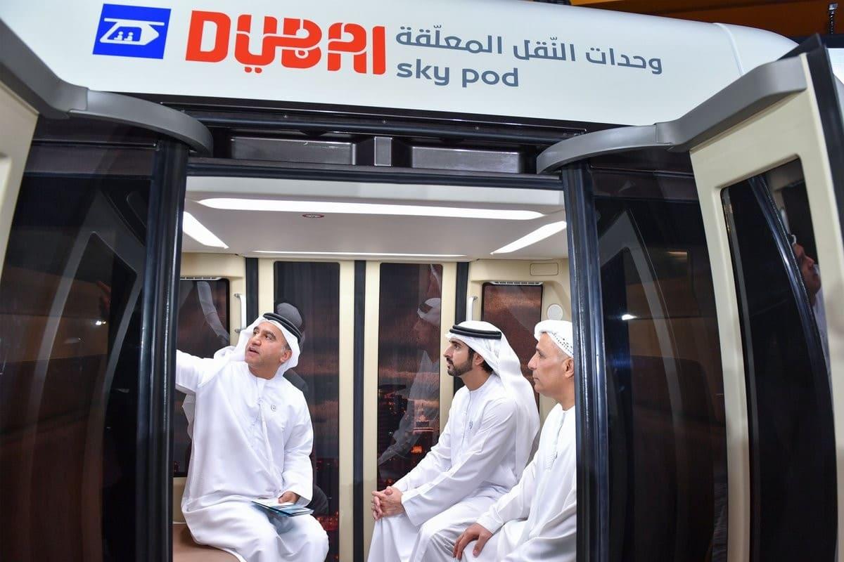Струнный транспорт представили наследному принцу Дубая (1)