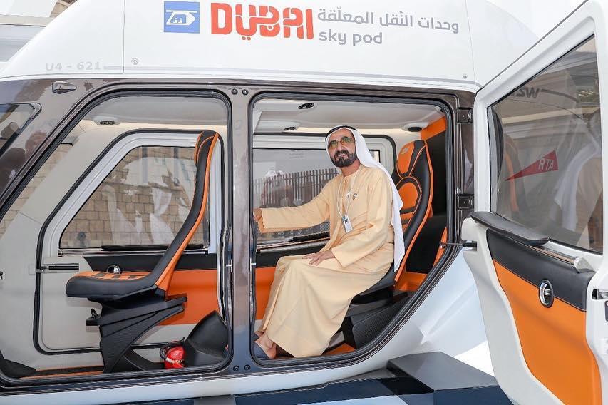 Mohammed bin Rashid Al Maktoum skyway sky pods
