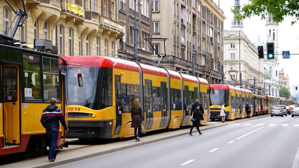 пробка-трамваи