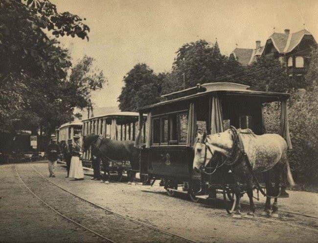 старый-трамвай