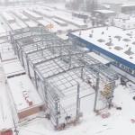 А так здание будущего цеха выглядело 9 месяцев назад, в январе 2019 года