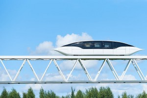 Высокоскоростной транспорт SkyWay в ЭкоТехноПарке в 2019 году