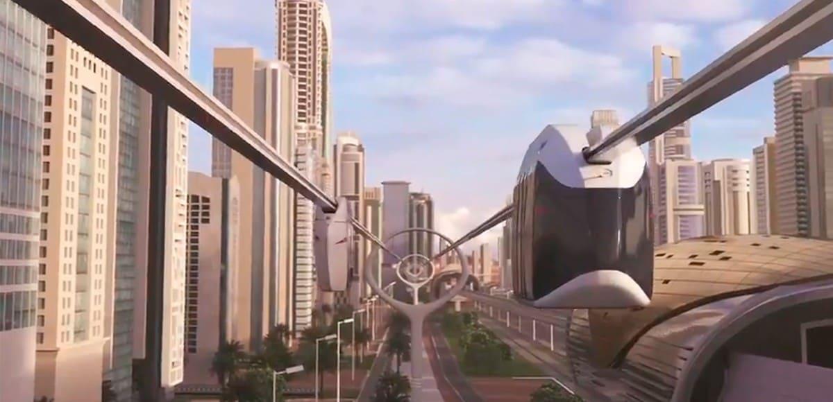 1. Дубай анонсировал создание 15-километровой городской транспортной системы SkyWay