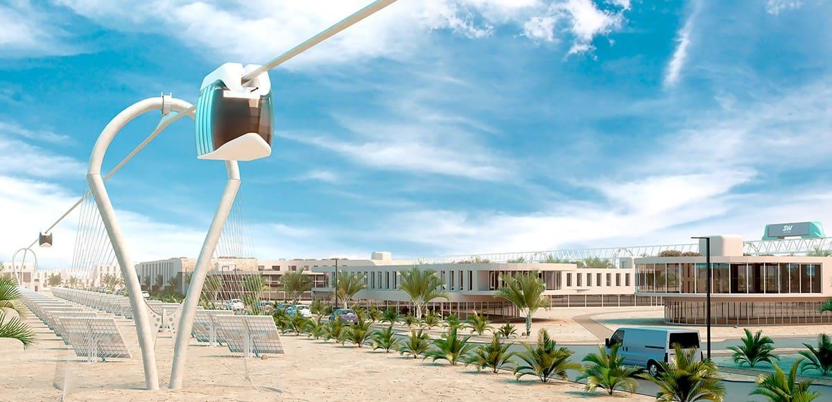 4. В правильное время в правильном месте обратный отсчёт до старта SkyWay в ОАЭ