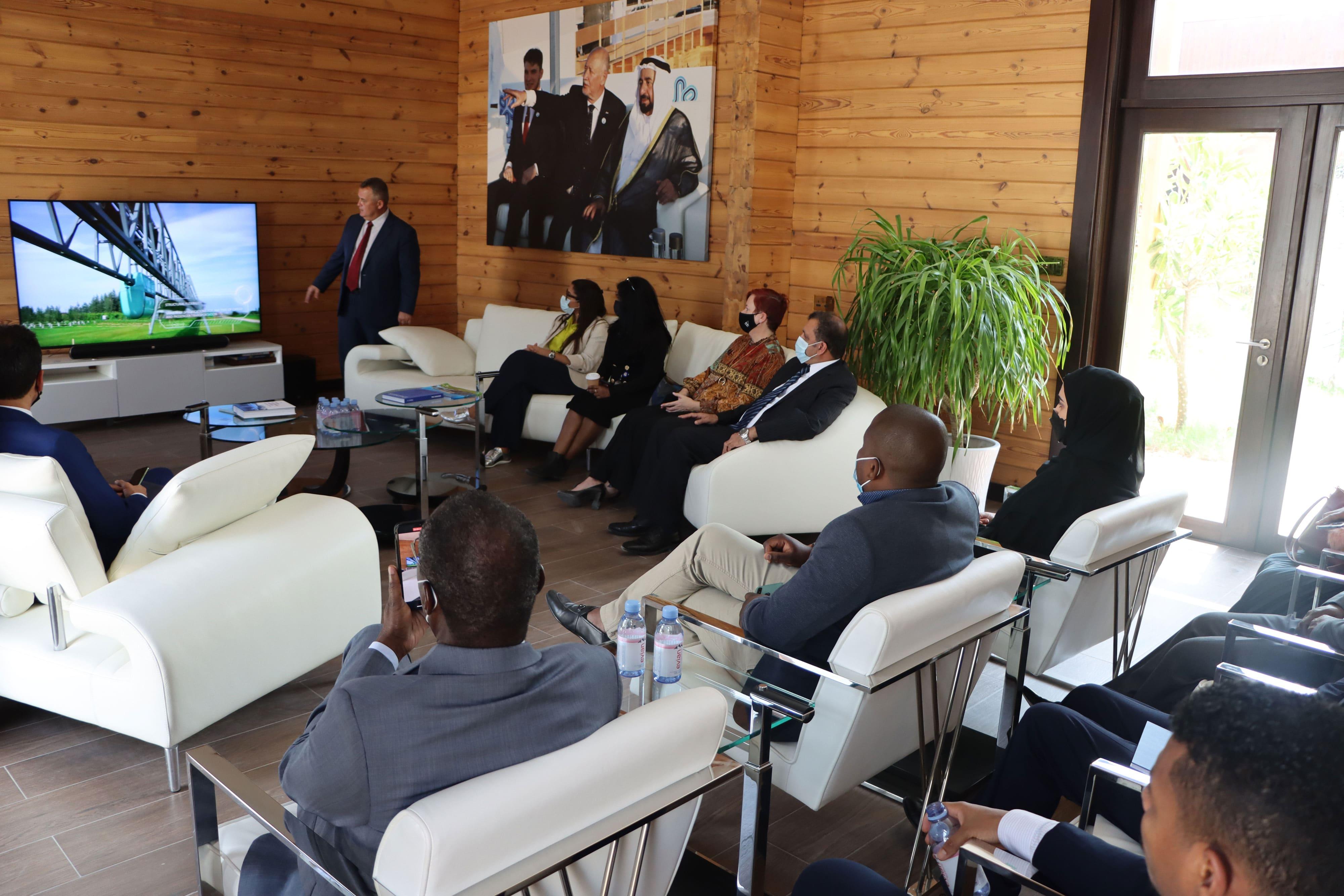 Presentation of uSky Transport & Infrastructure Technology at uHouse, uSky Transport office
