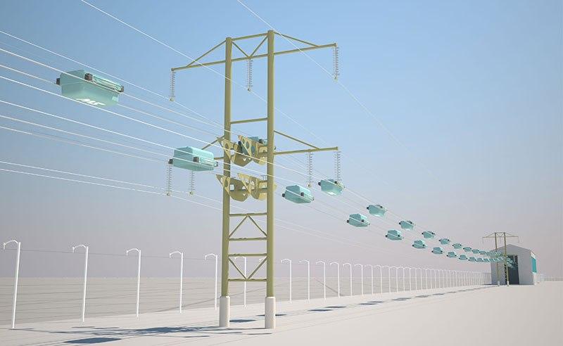 Эко технопарк sky way Минск Беларусь полигон скайвей
