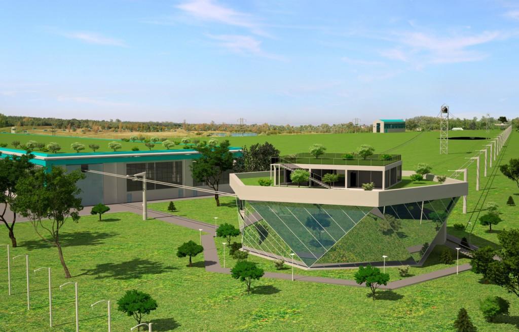 Экотехнопарк скайвей SkyWay в Беларусь, Минске