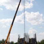 Фотоотчёт о ходе строительства ЭкоТехноПарка