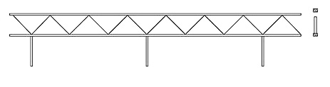 Жёсткая неразрезная путевая структура