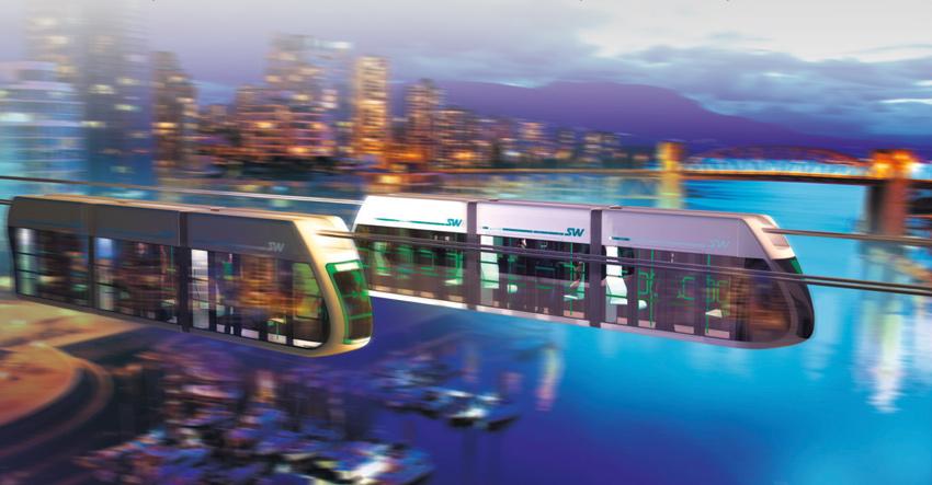 Городской транспорт SkyWay
