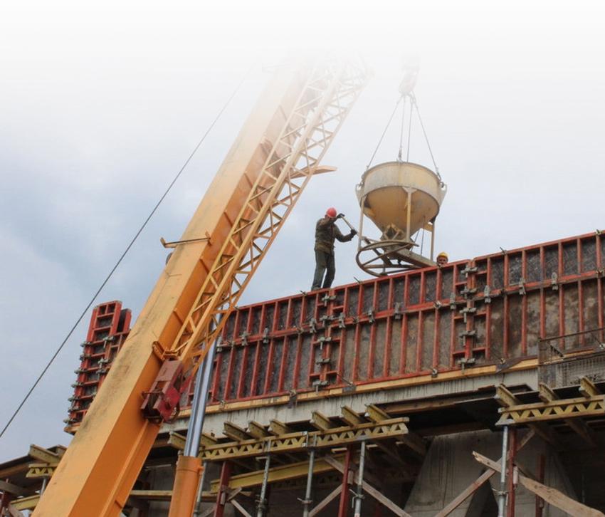 Строительство Экотехнопарка. Март 2016 г.