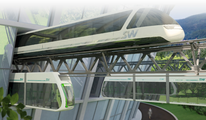 Струнный транспорт Юницкого SkyWay