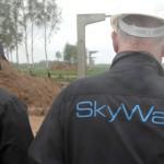 Руководитель SkyWay проинспектировал участки работ