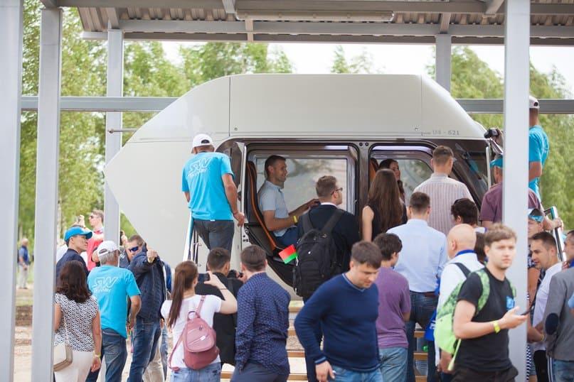 Первая демонстрация Юнибайка широкой публике. ЭкоФест, р.Беларусь, 2017 г