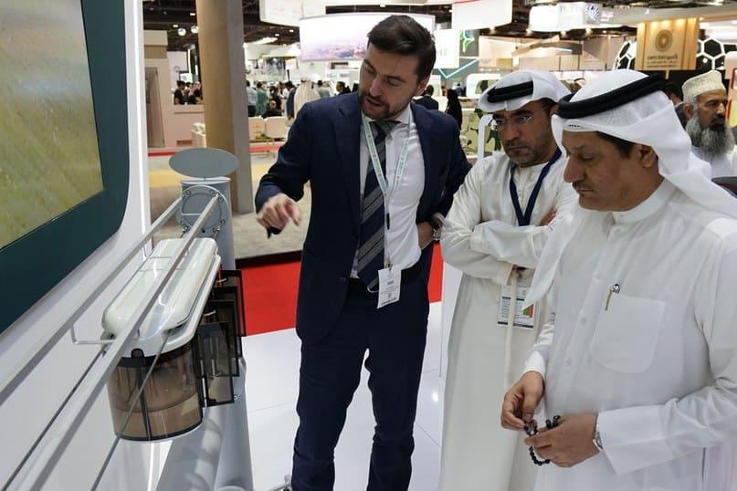 SkyWay на выставке Future Cities, 2018 в Дубае