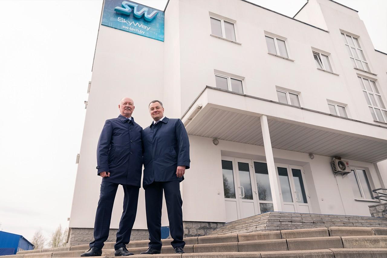 Евгений Архипов и Анатолий Юницкий SkyWay
