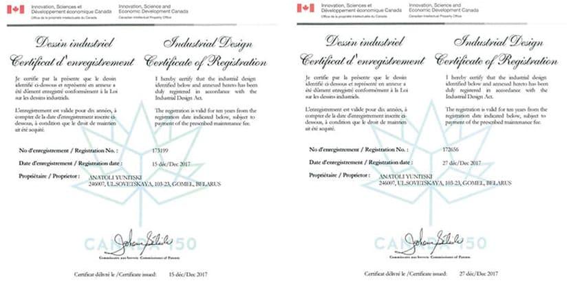 канадские сертификаты скайвей