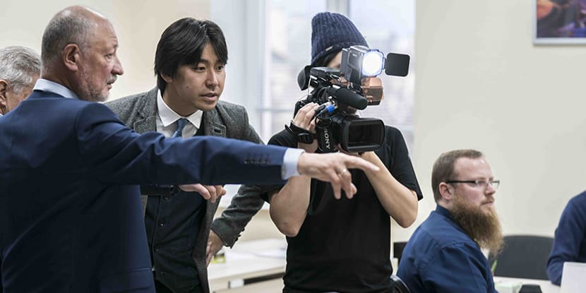 TV TOKYO В ГОСТЯХ У SKYWAY