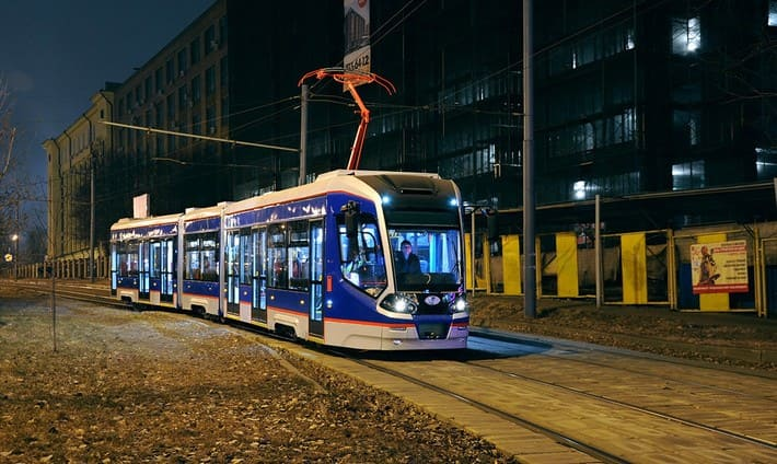 современный-трамвай