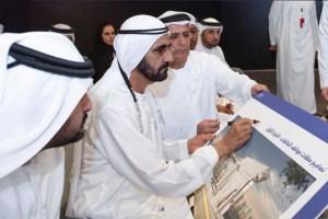 Мохаммед ибн Рашид Аль Мактум на презентации проекта SkyWay для Дубая-1