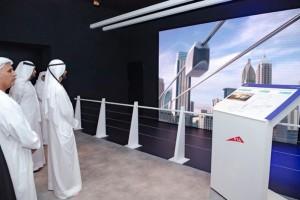 Мохаммед ибн Рашид Аль Мактум на презентации проекта SkyWay для Дубая-2