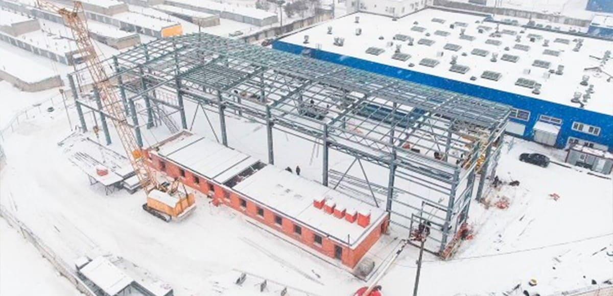 6. Новое производственное здание